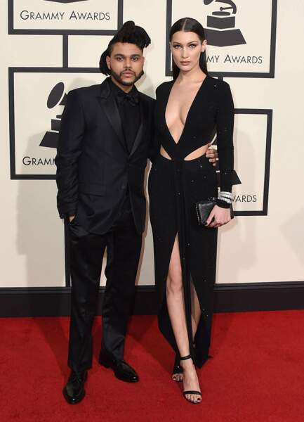 The Weeknd, et sa compagne la belle Bella Hadid