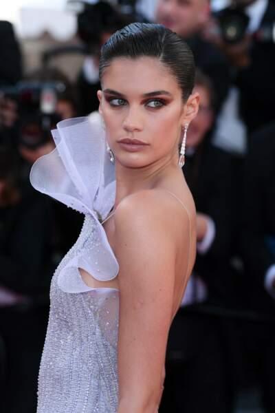 Sara Sampaio au Festival de Cannes