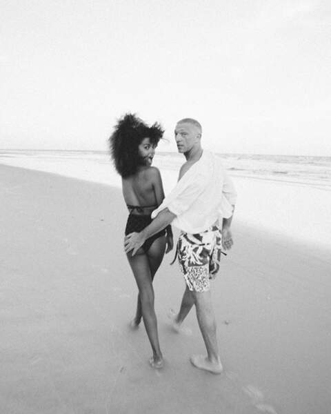 L'amour à la plage...