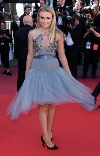 Tallia Storm au Festival de Cannes