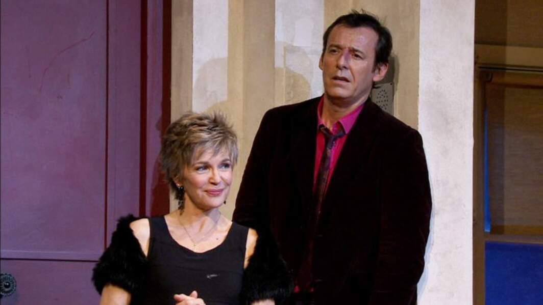 Proche de Véronique Jeannot depuis qu'ils ont joué au théâtre, Jean-Luc Reichmann l'a invitée dans sa série.
