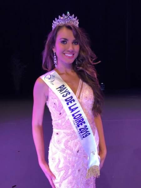 Yvana Cartaud représentera les Pays de la Loire au concours Miss France 2020