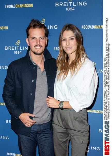 Laury Thilleman et son chéri Juan Arbelaez