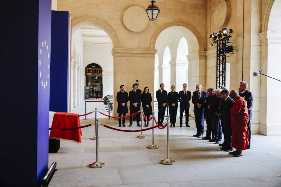 Les représentants de différents cultes ont prié pour Jacques Chirac, en présence de Claude Chirac et sa famille