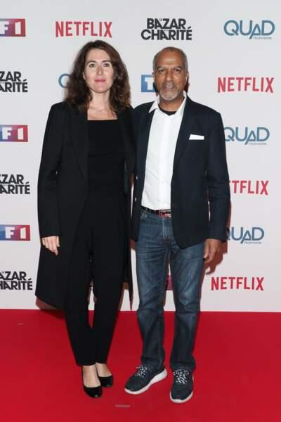 Pascal Légitimus et sa femme Adriana Santini ne voulaient pas manquer cet événement