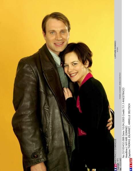 En 2003, Armelle Deutsch et Thomas Jouannet se donnaient la réplique dans L'affaire Dominici