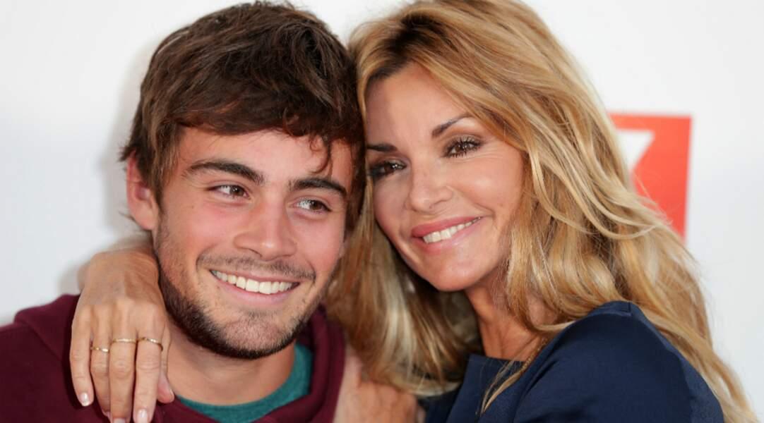 Une belle complicité l'unit à Clément Rémiens, son fils dans le feuilleton de TF1…