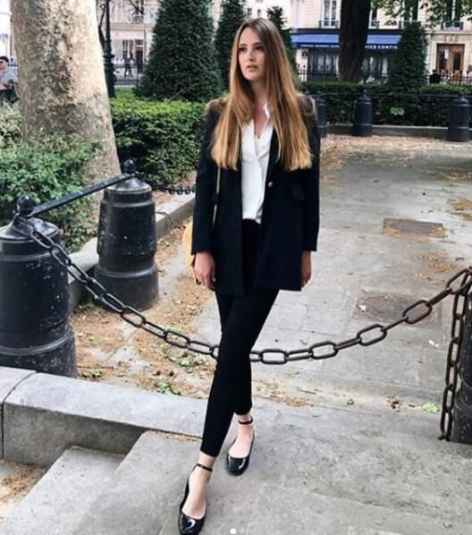 Style classe parisienne, tout lui va !
