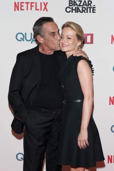 Thierry Ardisson, très amoureux de sa femme, la journaliste Audrey Crespo-Mara