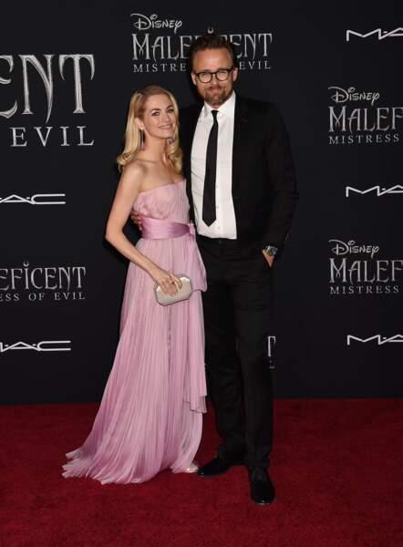 Le réalisateur du film Maléfique : le pouvoir du mal, Joachim Ronning, et sa femme