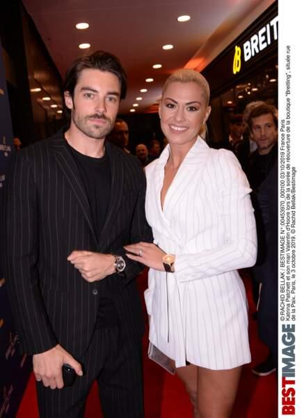 Katrina Patchett et son mari Valentin d'Hoore tout sourire !