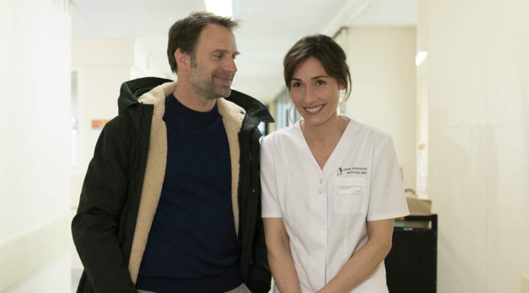 Ex-mari d'Annelise Hesme dans Nina (France 2)...