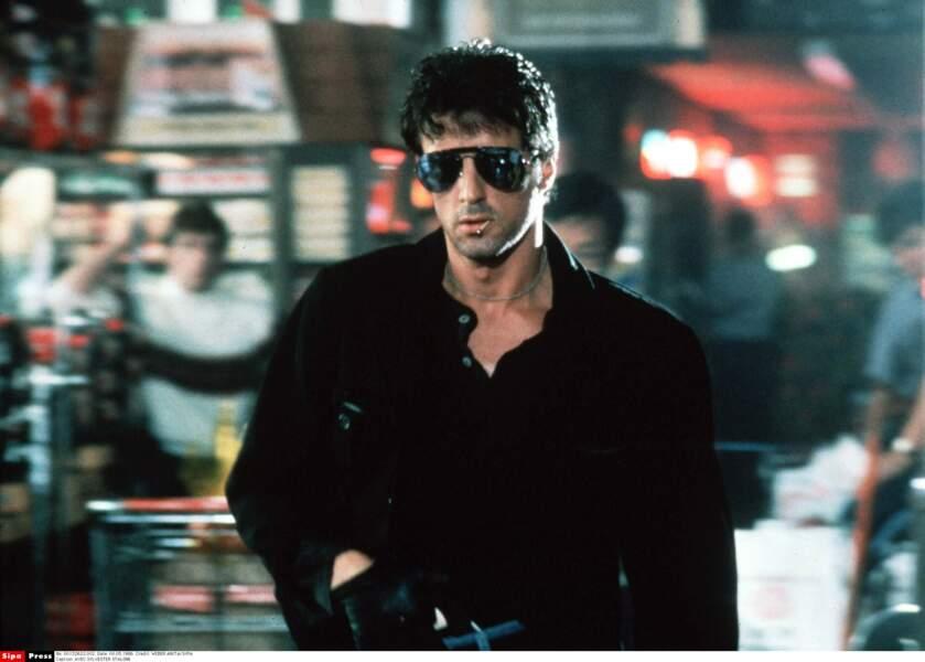 Total look eighties dans Cobra (1986)