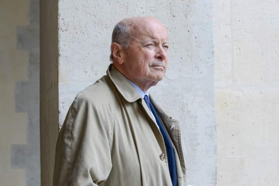 Jacques Toubon, ancien ministre de Jacques Chirac, est venu se recueillir