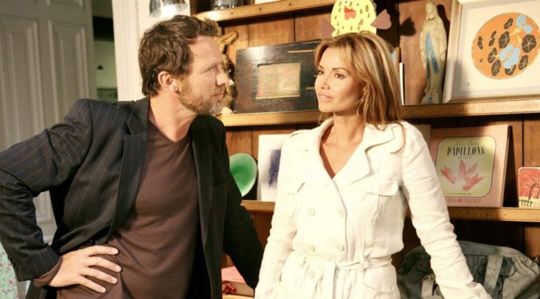 En 2007, Ingrid Chauvin, tout en blondeur, tourne le Monsieur d'en face