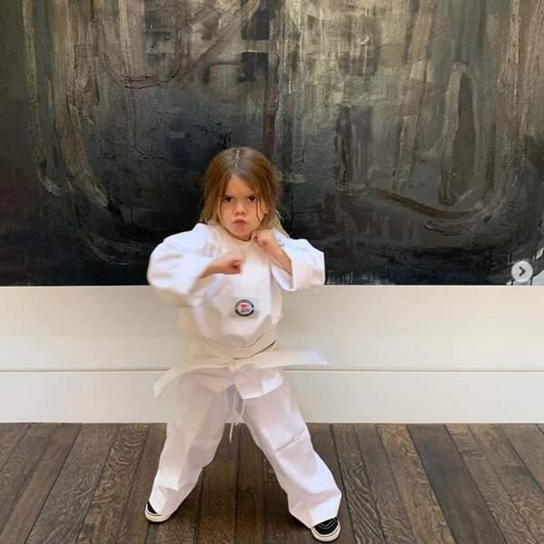 Penelope, elle est plutôt judo