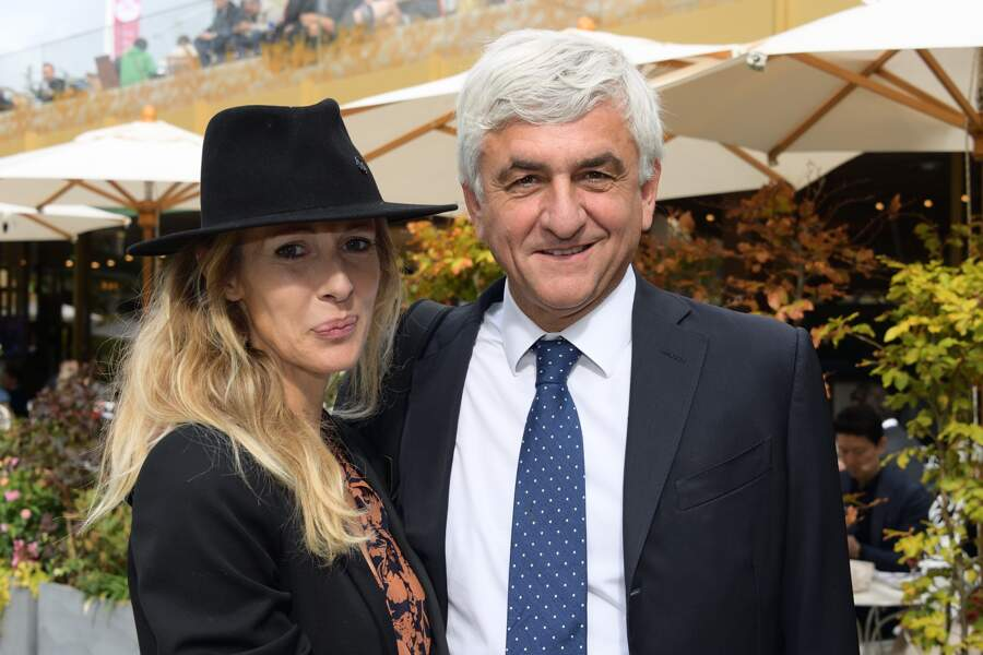 L'ex-ministre Hervé Morin et sa compagne Élodie Garamond sont de toutes les courses hippiques !