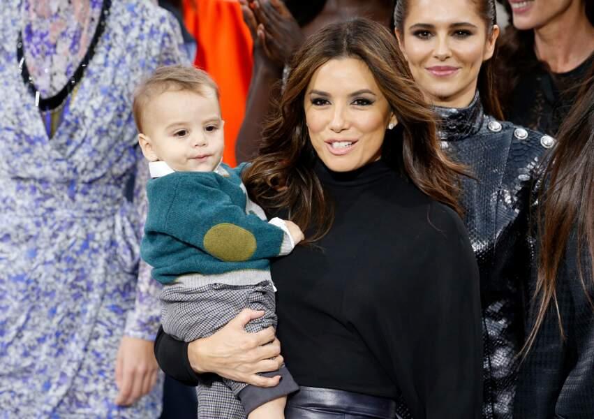 Eva Longoria et son fils Santiago