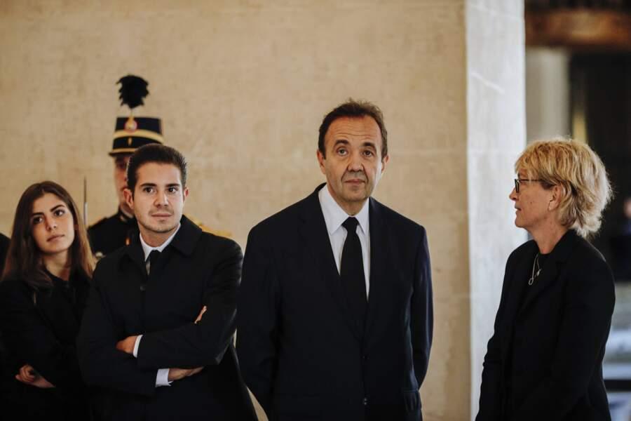 Mais ni Bernadette Chirac, affaiblie, ni la fille adoptive de Jacques Chirac, Anh Dao Traxel, n'étaient présentes