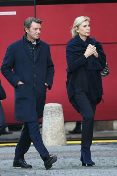 François Baroin était présent avec sa compagne, l'actrice Michèle Laroque.