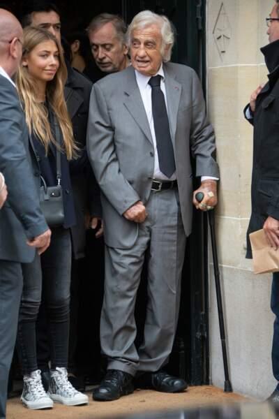 Jean-Paul Belmondo aux côtés de sa fille Stella