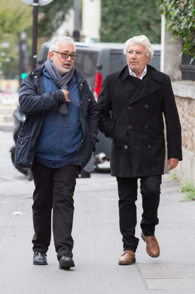 Michel Boujenah et son frère Paul Boujenah