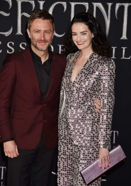 L'acteur Chris Hardwick et sa femme Lydia Hearst