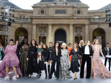 Geri Halliwell, Eva Longoria et son fils font le show chez L'Oréal Paris !
