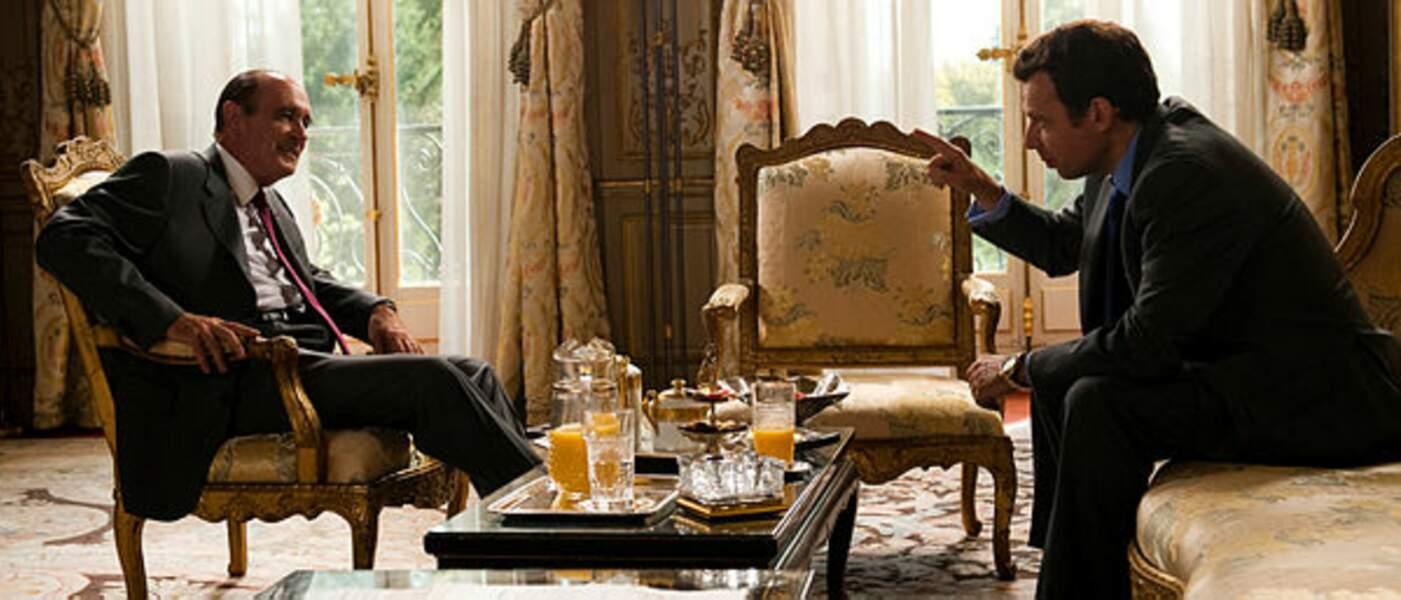 Le film de Xavier Durringer La Conquête, sur l'ascension de Nicolas Sarkozy, met aussi en scène Jacques Chirac