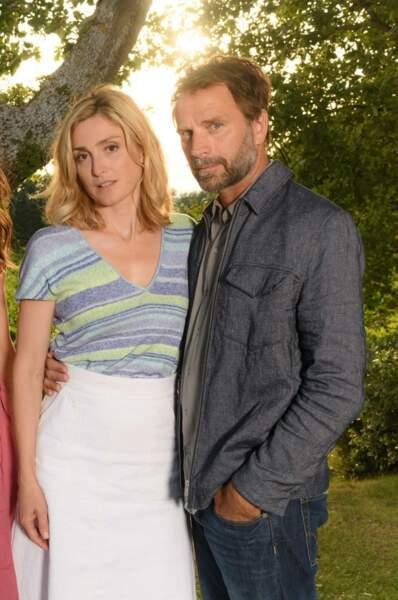 ... l'époux de Julie Gayet dans Soupçons (France 3), rien que ça !