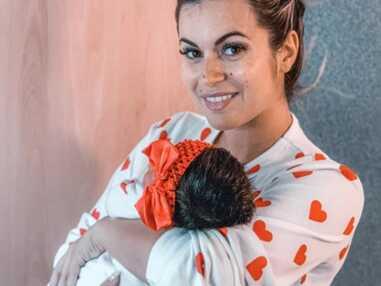 Carla Moreau et Kevin Guedj parents d'une petite Ruby : découvrez les premières photos de la princesse !