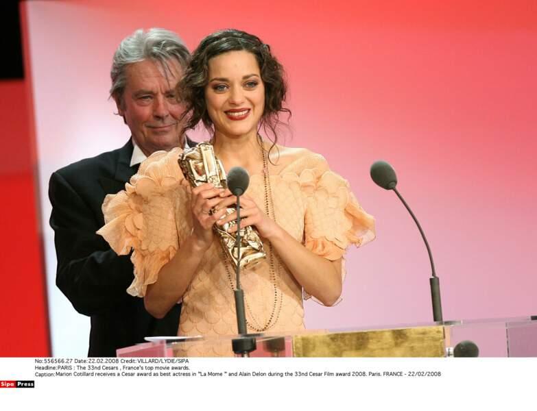 Elle reçoit un César pour ce rôle (2008)