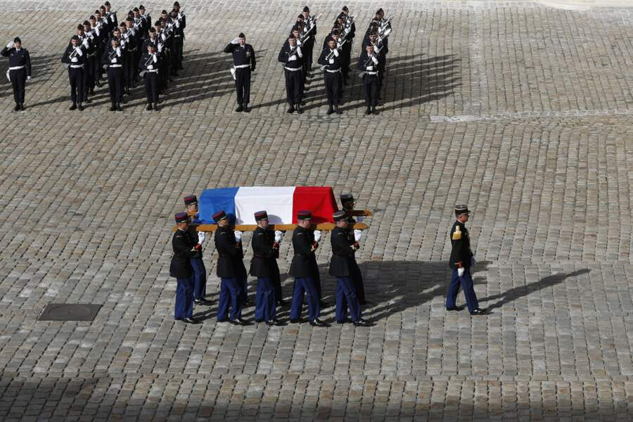De nombreuses personnalités étaient présentes aux obsèques de Jacques Chirac.