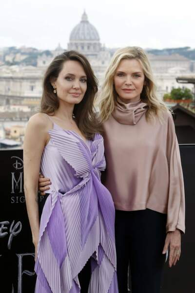 Angelina Jolie et Michelle Pfeiffer