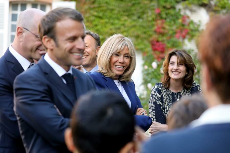 Le couple Macron a inauguré la 36ème édition des Journées du Patrimoine vendredi 20 septembre.
