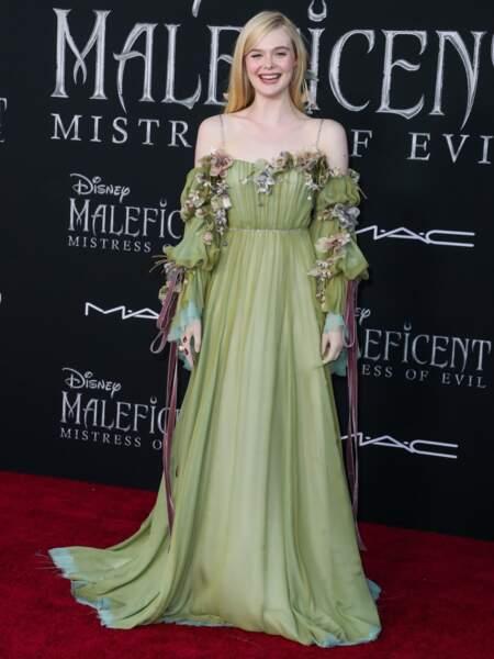 Elle reprend son rôle de la princesse Aurore, qu'elle tenait déjà dans le premier film