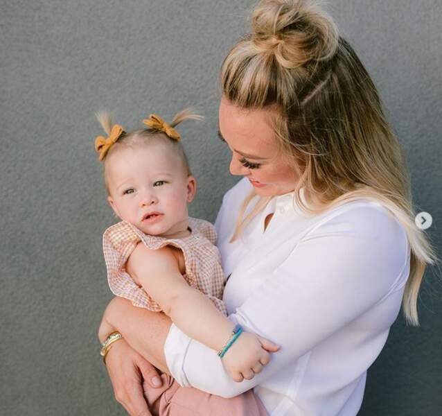 Trop chou, le fille d'Hilary Duff