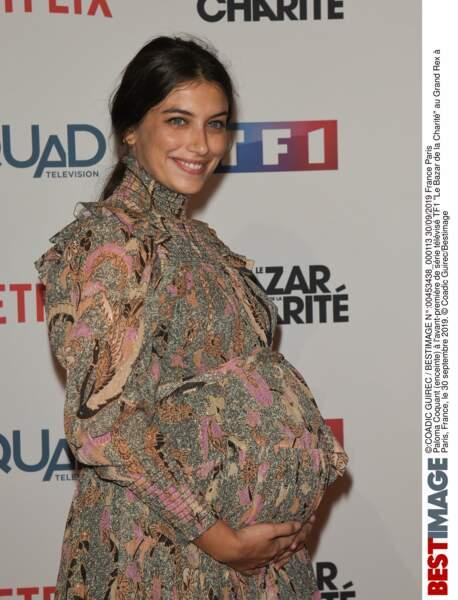 Paloma Coquant (Munch) attend un heureux évènement !
