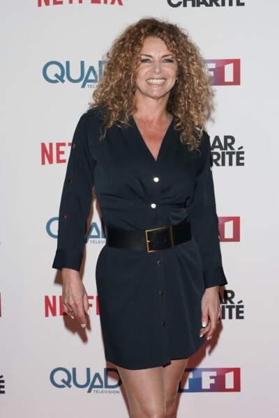 Manuela Lopez s'est absentée du tournage des Mystères de l'amour pour assister à la projection