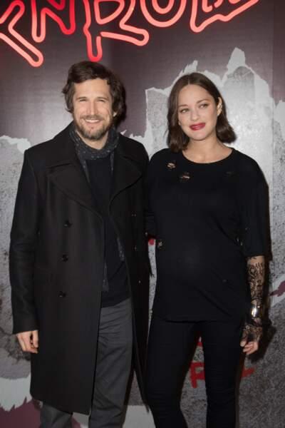 Avec son chéri Guillaume Canet pour la sortie de Rock'nroll (2017)