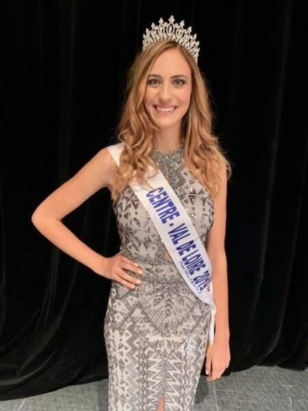 Jade Simon-Abadie est couronnée Miss Centre-Val de Loire