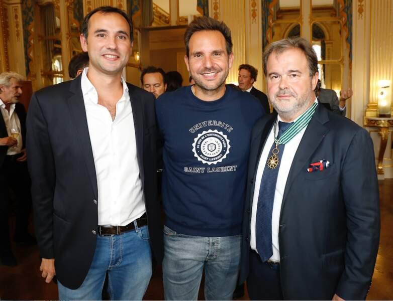 Christophe Michalak et Pierre Hermé