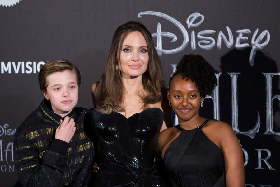 Shiloh, Angelina Jolie et Zahara