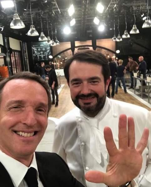 Sur le tournage de Top Chef 9 (en 2018), il dévoile une silhouette amincie !
