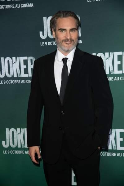 Joaquin Phoenix était présent ce lundi à Paris pour présenter Joker