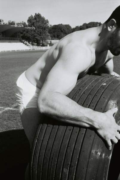 Le calendrier joue sur l'authenticité cette année, les rugbymen sont sur le terrain...