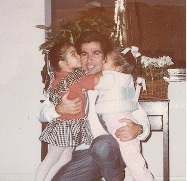 Kim et sa sœur se souviennent de leur paps, disparu il y a 16 ans