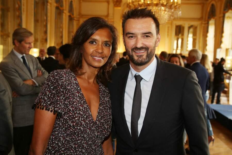 Karine Le Marchand et Cyril Lignac