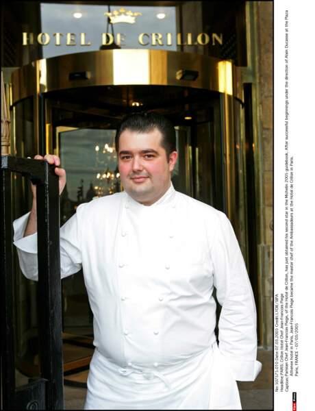 A l'occasion de l'anniversaire du célèbre chef, retour sur l'évolution de Jean-François Piège, le voici en 2005