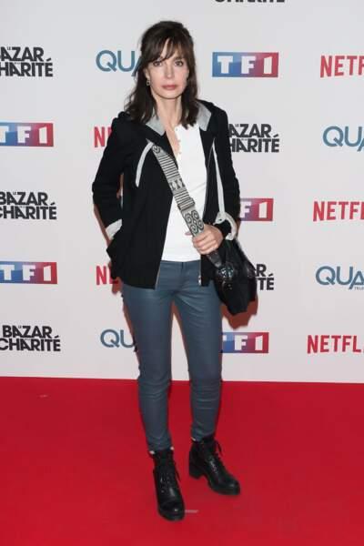 Mais aussi Anne Parillaud, star de la prochaine série de TF1 H24